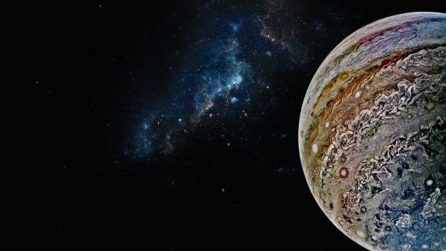 Eyes Of Jupiter Wallpaper Mission Juno