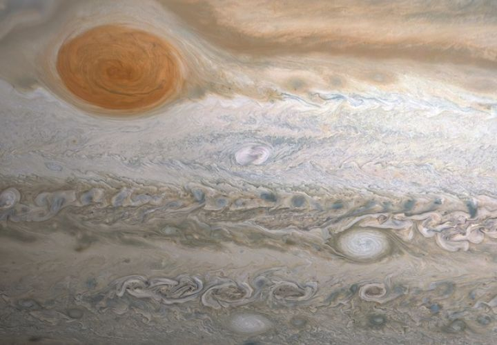 Storms in Jupiter's Southern Hemisphere