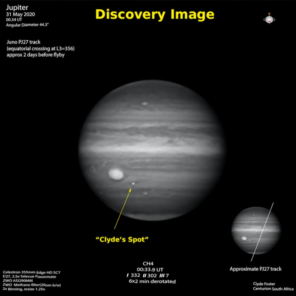 Discovery Image in Jupiter