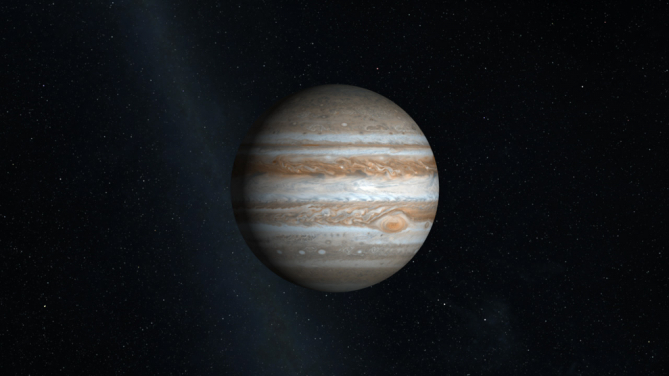 Jupiter With Rings